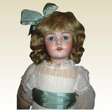 """Beautiful 27"""" Simon Halbig 69 Antique bisque doll"""