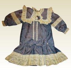Beautiful silk large dress