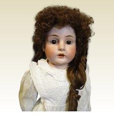 """Kestner 29"""" 154 Antique bisque doll"""
