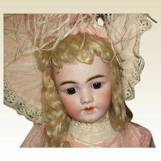"""Angelic 29"""" Santa 1249 antique bisque"""