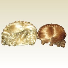 Two old stock Wigs upbraided