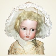 Great large doll or Teddy bonnet