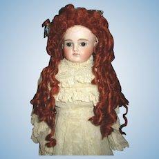 Artist made mohair wig