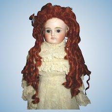 Beautiful artist made mohair wig