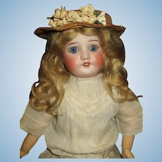 Sweet French SFBJ 60 bisque doll