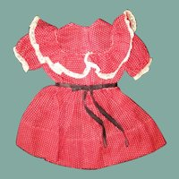 Darling vintage dress for a smaller doll