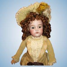 Darling K*R Antique bisque doll