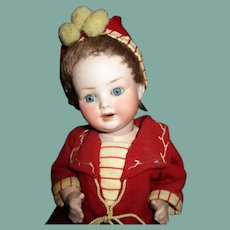 Adorable all original bisque character baby