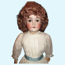 "Sweet 30"" tall antique Queen Louise doll"