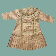 Gorgeous  silk doll dress