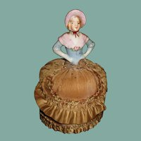 Beautiful Antique pin cushion doll