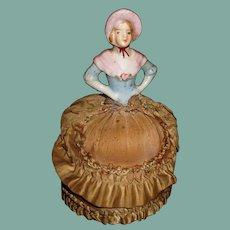 Beautiful Antique pin cushion doll