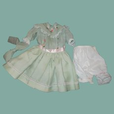 Adorable dress for a large doll