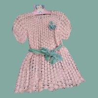 Beautiful large crochet dress
