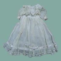 Beautiful antique doll dress