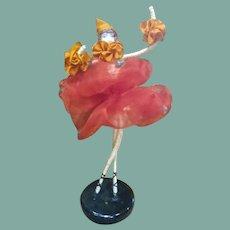 Amazing and unique bisque ballerina