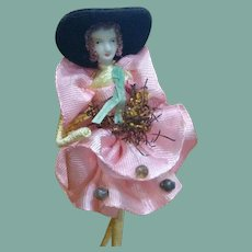 Wonderful and unique bisque doll vintage