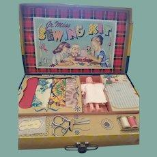 Hasbro Jr. Miss doll sewing kit