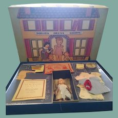 Great doll sewing kit 1937