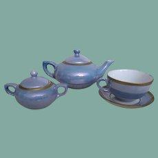 Beautiful doll tea set