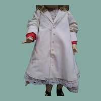 """Darling large dress and coat for a 28"""" doll"""