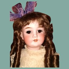 Adorable Walkure by  Kley & Hahn  Antique bisque doll