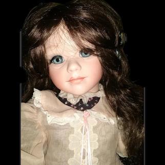 Beautiful artist bisque doll made by K Heiden i