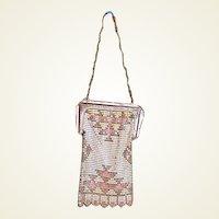 Vintage mesh purse