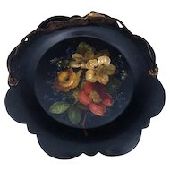 Victorian papier mache tray, Jennens and Bettridge, calling card tray