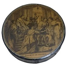 French Antique Erotic snuff box, early 19th century