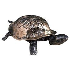 Victorian clockwork tortoise bell, service bell