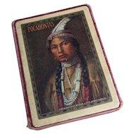 Antique playing cards, Pocahontas, Congress 606, USPCC