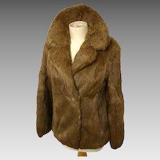Vintage rabbit fur jacket, as new, Hollywood glam, Sale