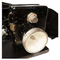 40's WW2 British issue WW2 ARP handheld lamp