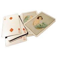 Vintage 1920's erotica playing cards, Chas Goodall, boudoir range