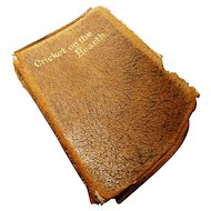Antique miniature Charles Dickens book, The Cricket on the Hearth, c1906