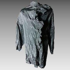Edwardian Tafetta mourning blouse, antique mourning clothes