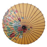 Antique Japanese parasol / Wagasa, early 20th century