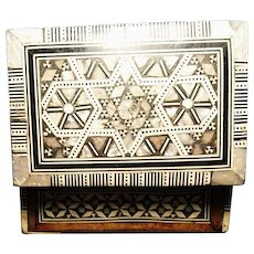 Antique Vizagapatam, Anglo-Indian inlaid box