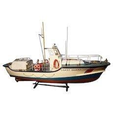 Vintage scale model lifeboat / coastguard boat, Manasquan Inlet