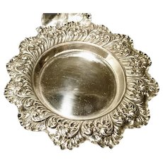 Antique sterling silver bowl / dish, Fenton Bros