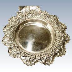 Antique sterling silver bowl / dish, Fenton Bros