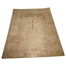 Everyman annual, 1930 limited edition, Vellum binding, signed