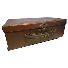 Antique miniature travel case, childs case