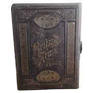 Victorian musical photo album, The British Army Album, working with key