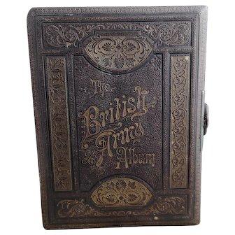Victorian musical photo album, The British Army Album, working with key