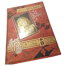 Victorian painting book, Little Wide Awake