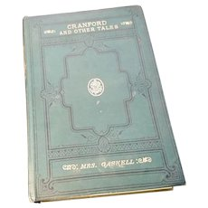 Cranford and Other Tales, Mrs Gaskell, 1893, Victorian book