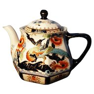 Antique Teapot, ceramic, Losol Ware, Keeling Co, Shanghai