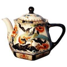 Antique Teapot, ceramic, Losol Ware, Keeling Co, Shanghai